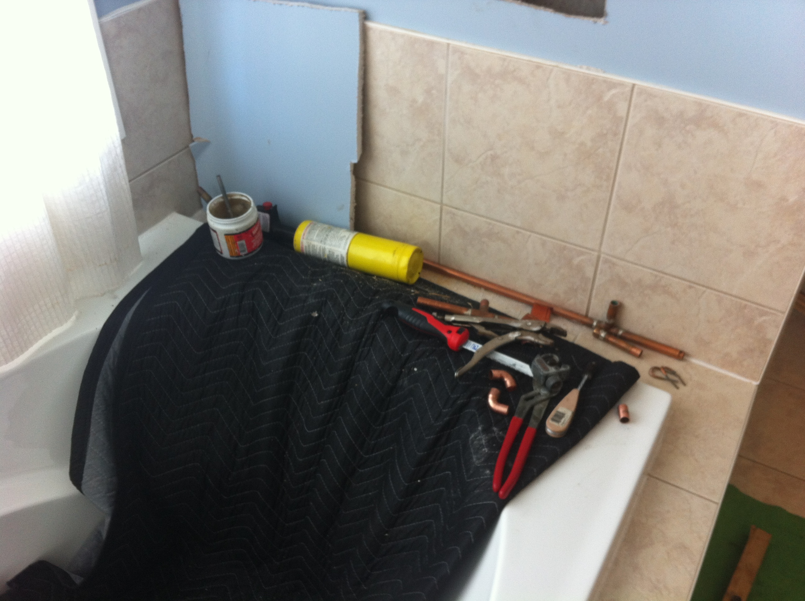 Changing a Shower Valve